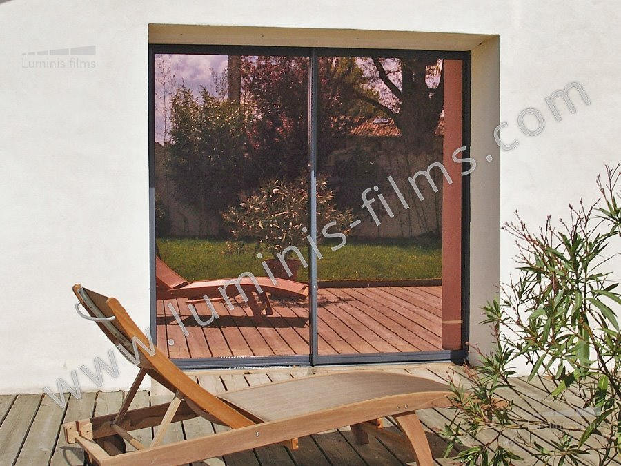 film miroir sans tain r fl chissant cuivre miroir 110i luminis films. Black Bedroom Furniture Sets. Home Design Ideas