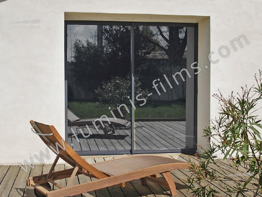 film miroir sans tain neutre inox miroir 109i luminis films. Black Bedroom Furniture Sets. Home Design Ideas