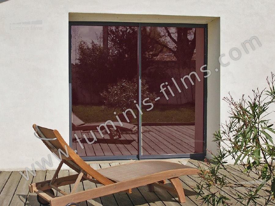 ce film de protection solaire bronze vous prot ge efficacement du soleil chaleur uv. Black Bedroom Furniture Sets. Home Design Ideas