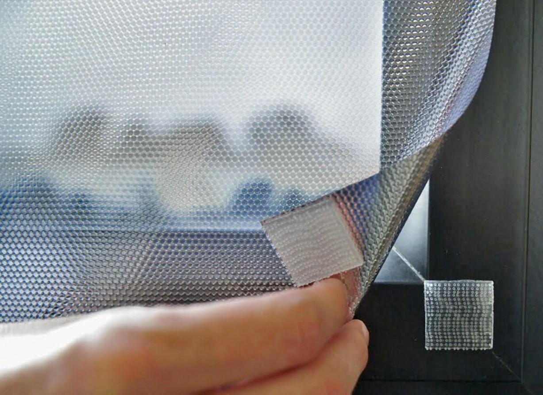 Film repositionnable anti chaleur noir à scratchs. Luminis-Films