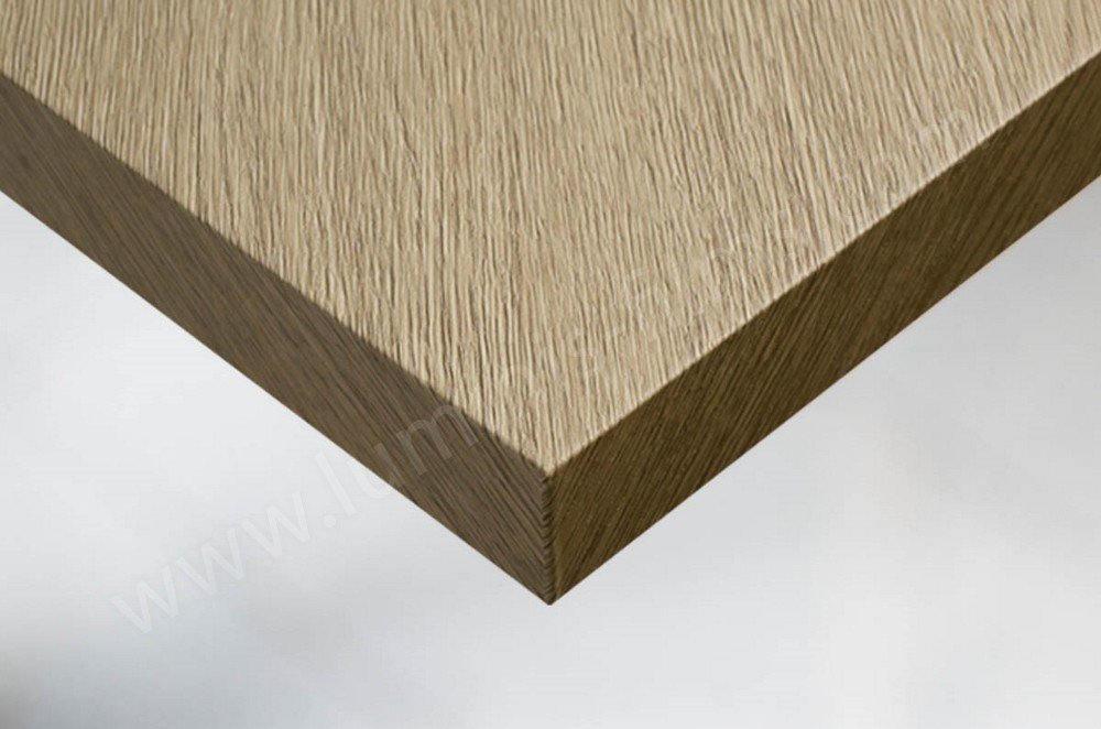 Adhésif mural et mobilier bois chêne vieilli clair. Luminis-Films