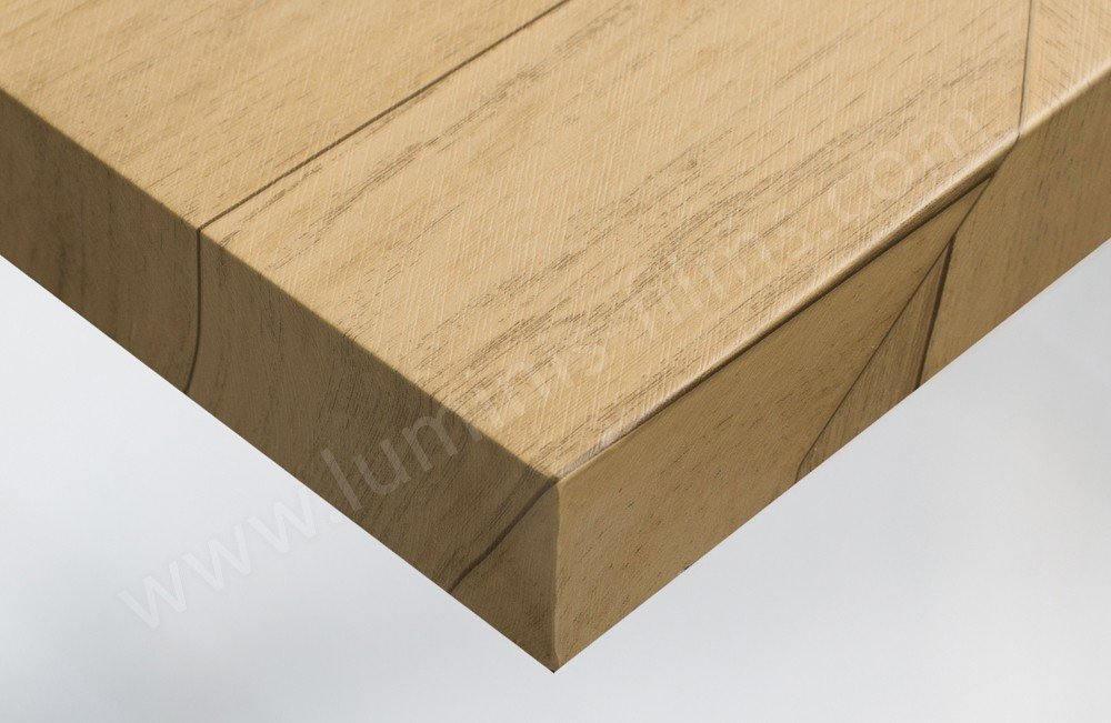 Papier peint bois effet parquet en chevron. Luminis-Films