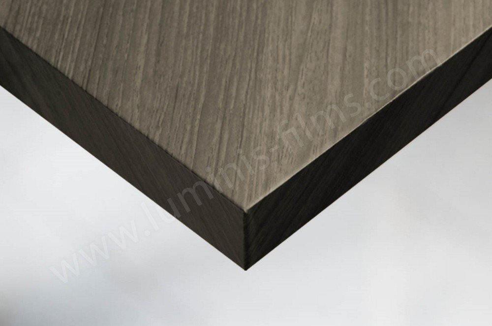 Papier adhésif bois chêne foncé mat. Luminis-Films