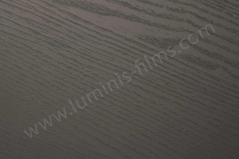 Adhésif bois gris foncé. Luminis-Films
