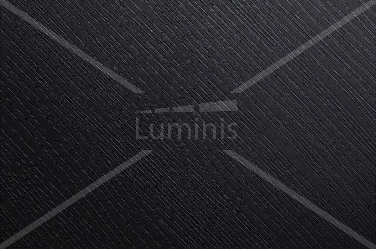 Papier adhésif meuble bois noir. Luminis-Films