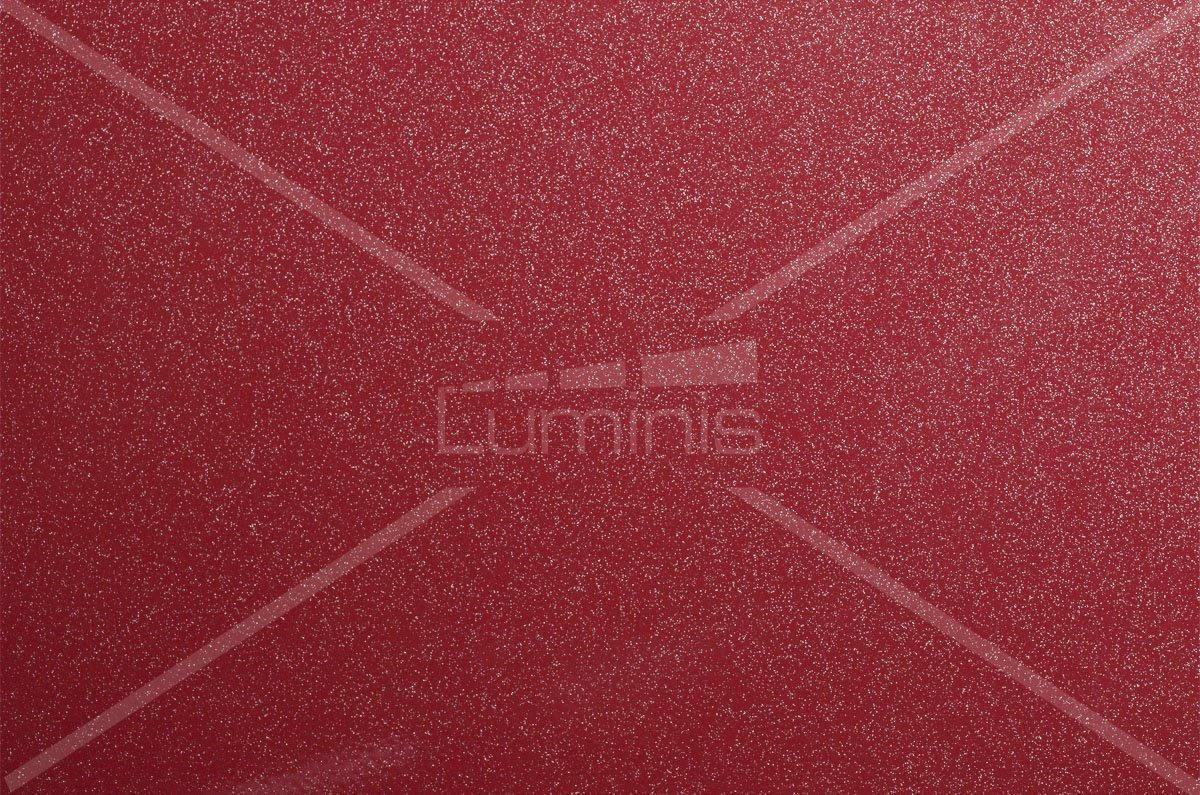 Film rouge aux fines paillettes argentées - J8. Luminis-Films