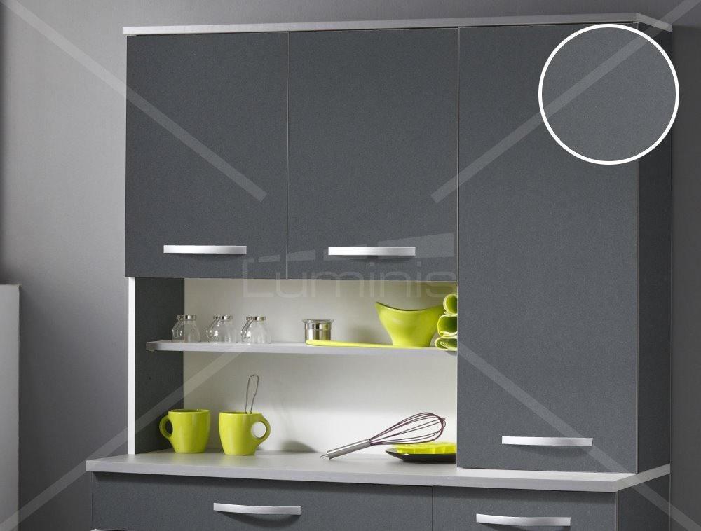 Papier adh sif meuble gris cendr mat mat 2309 luminis films - Papier adhesif meuble ...
