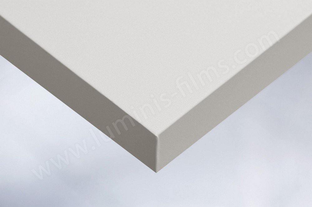 Papier adhésif gris perle mat. Luminis-Films