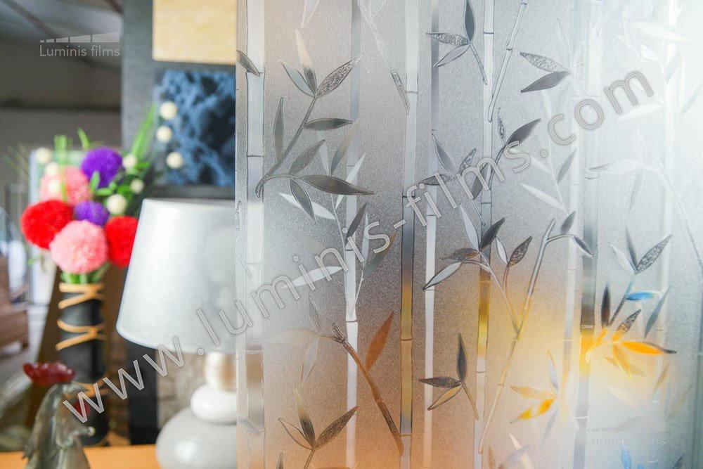 film lectrostatique bambou luminis films. Black Bedroom Furniture Sets. Home Design Ideas