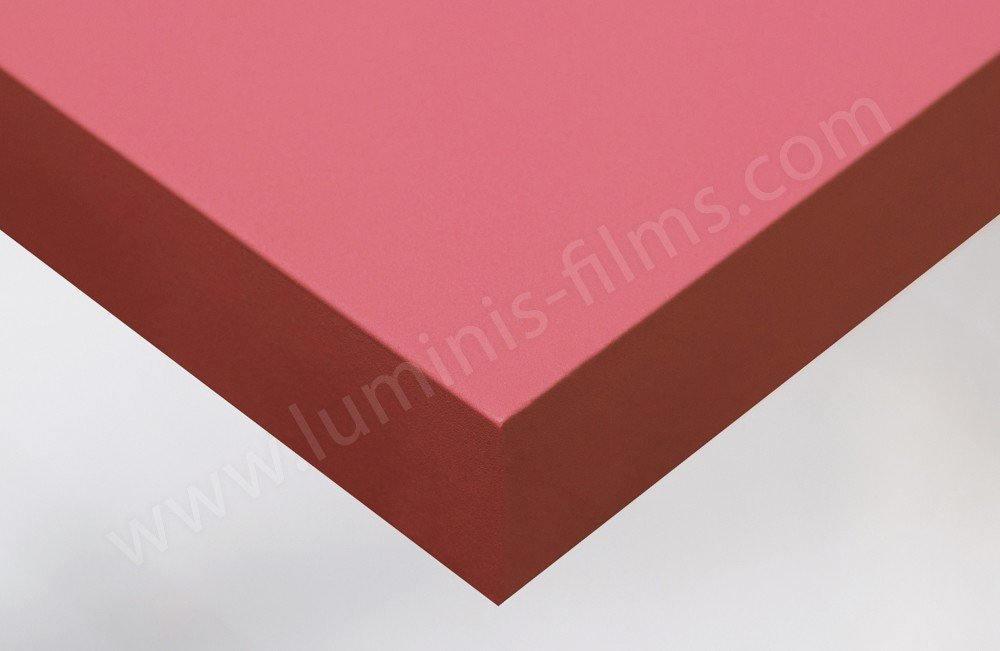 Revêtement décoratif rose bubblegum mat. Luminis-Films
