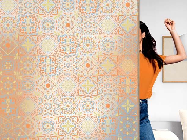 Film décoratif personnalisable motif Barcelone. Luminis Films