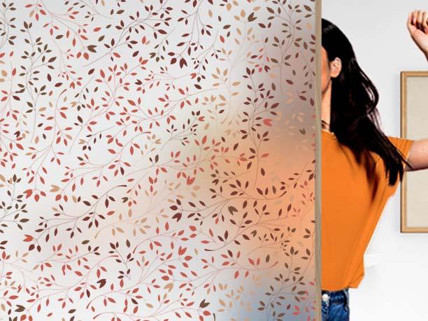 Film décoratif personnalisable motif spring. Luminis Films