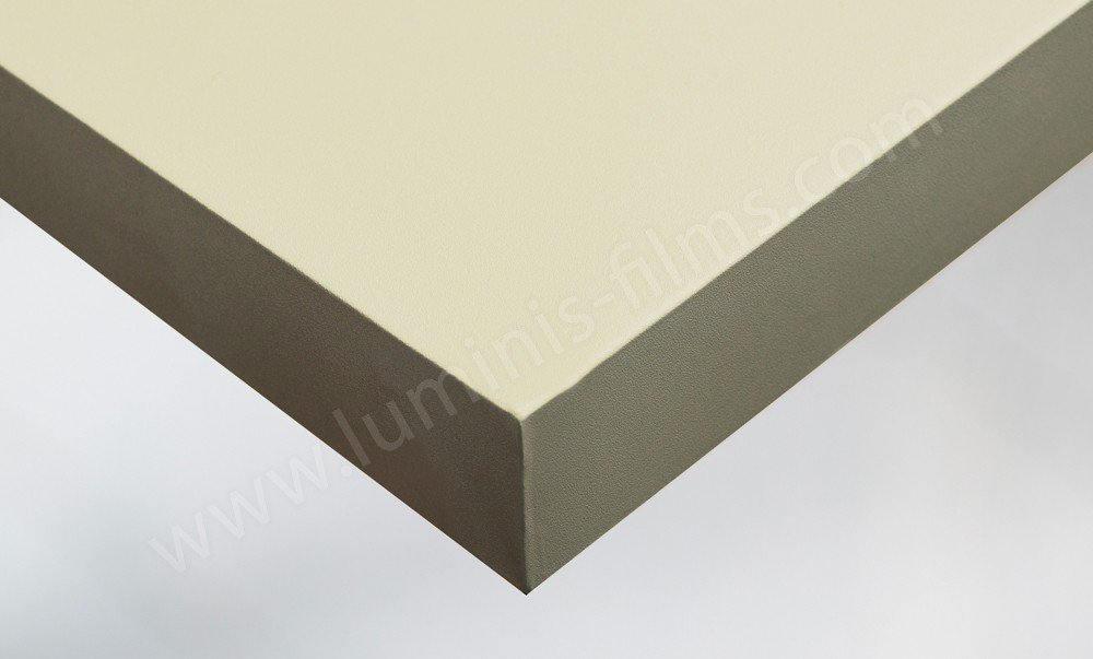 Adhésif mural beige mat . Luminis-Films