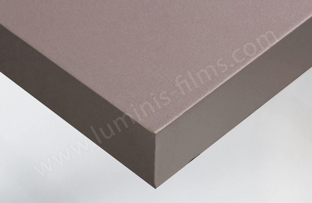 Adhésif couleur marron violet mat. Luminis-Films