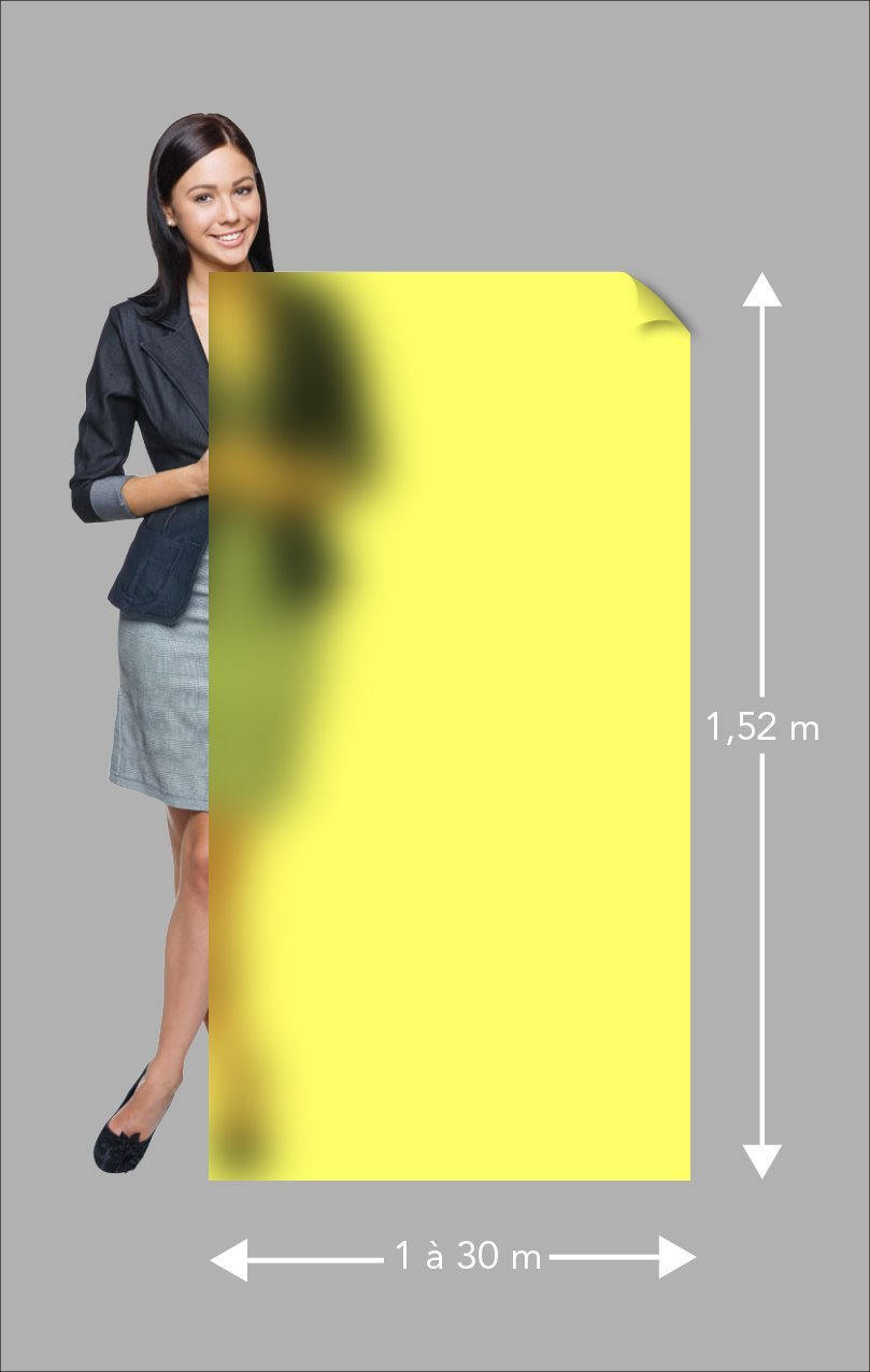 ce film d poli jaune fait entrer le soleil dans votre. Black Bedroom Furniture Sets. Home Design Ideas