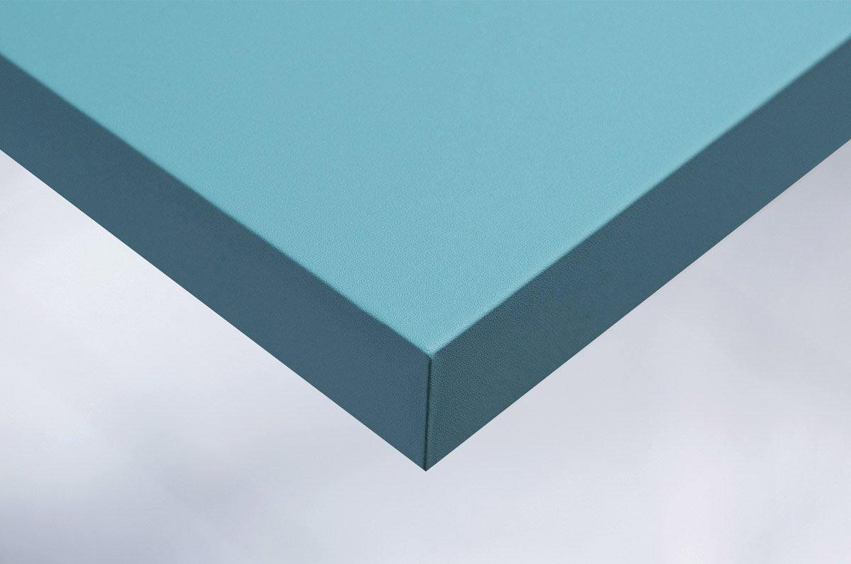 Papier autocollant bleu turquoise mat. Luminis-Films