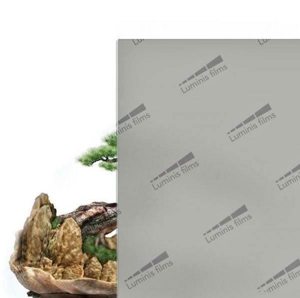 Film opacifiant gris mat. Luminis-Films