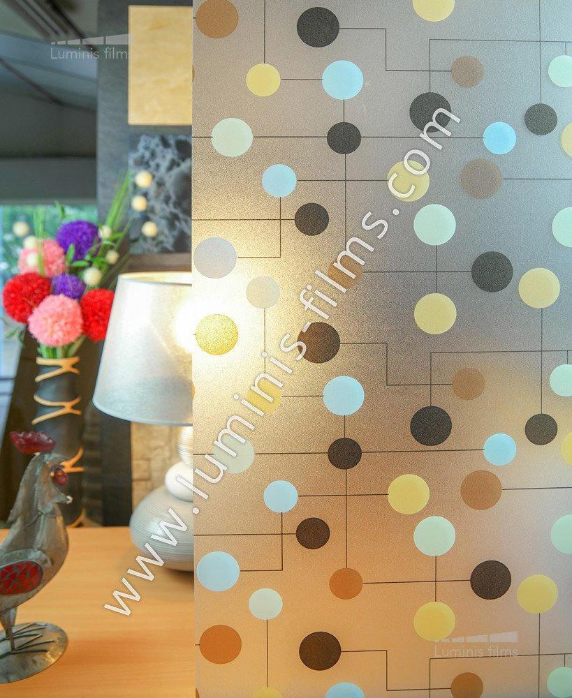 film lectrostatique pastille color e luminis films. Black Bedroom Furniture Sets. Home Design Ideas