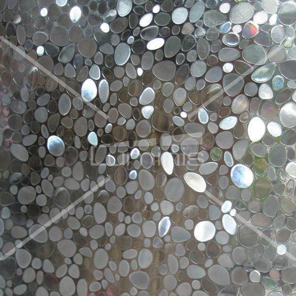 Film électrostatique à motifs galets. Luminis-Films