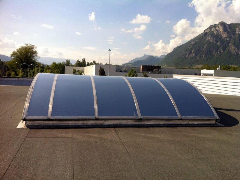 Film de protection solaire pour polycarbonate - POLY-200x. Luminis-Films