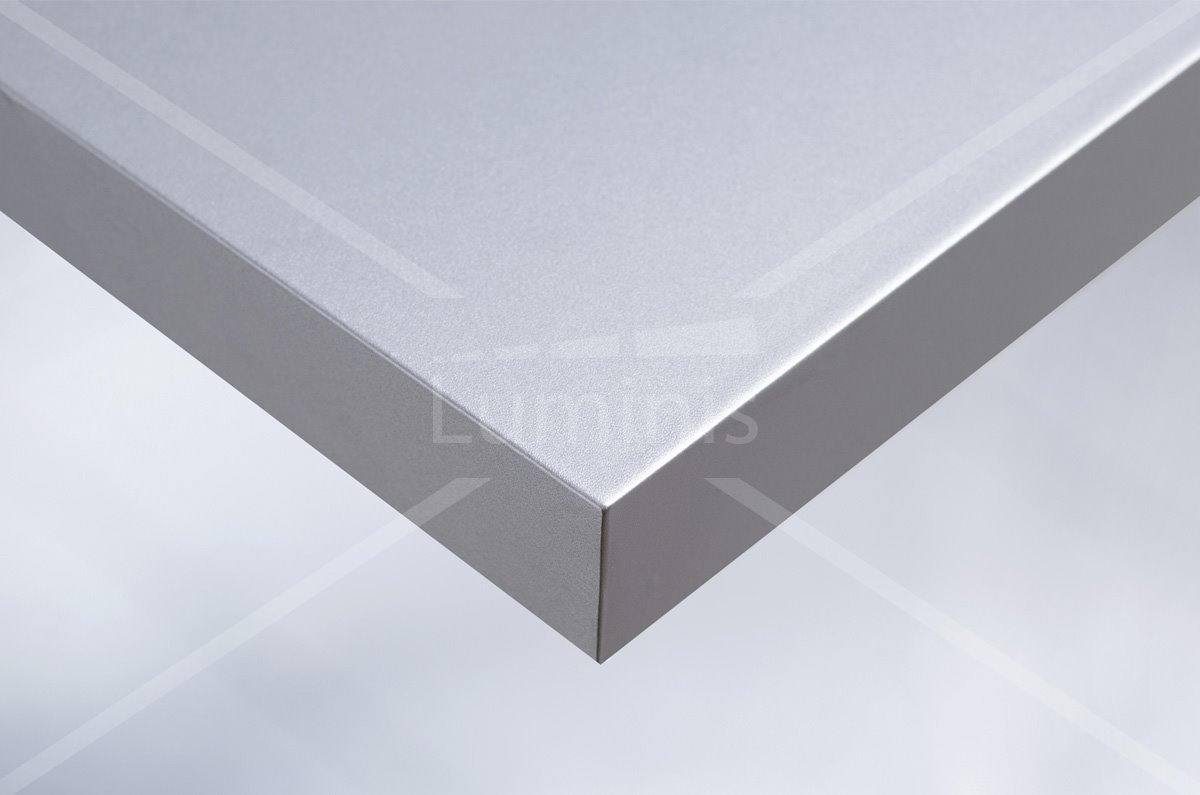 Revêtement mural aluminium lisse. Luminis-Films