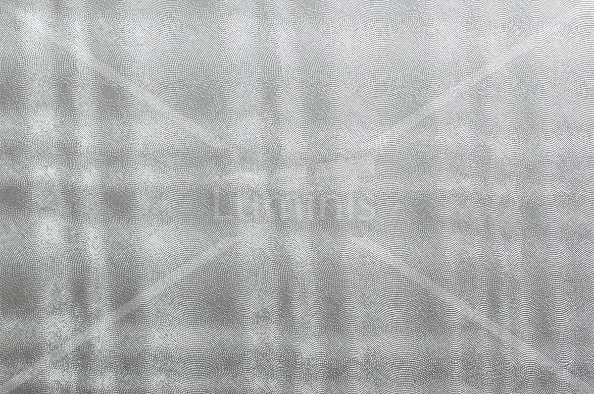 Adhésif crédence or blanc torsadé. Luminis-Films