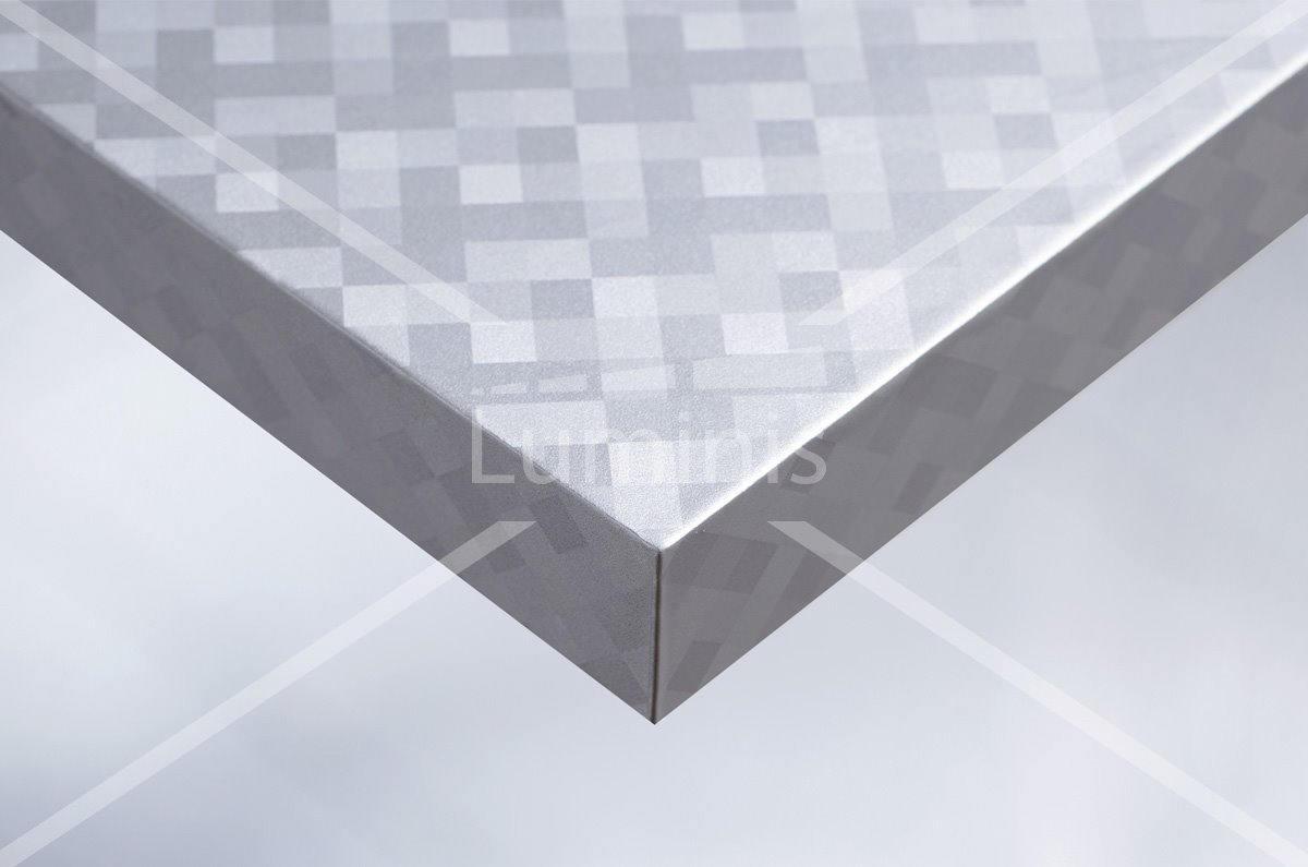 Rev tement cr dence aluminium damier indus 2710 luminis for Revetement credence