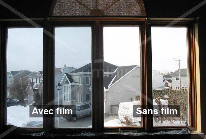 film de protection solaire r fl chissant gris sol 332 le rouleau de 21 00 m x 0 49 m. Black Bedroom Furniture Sets. Home Design Ideas