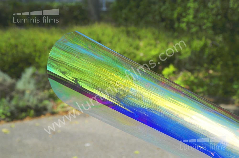 Film dichroïque électrostatique. Luminis-Films