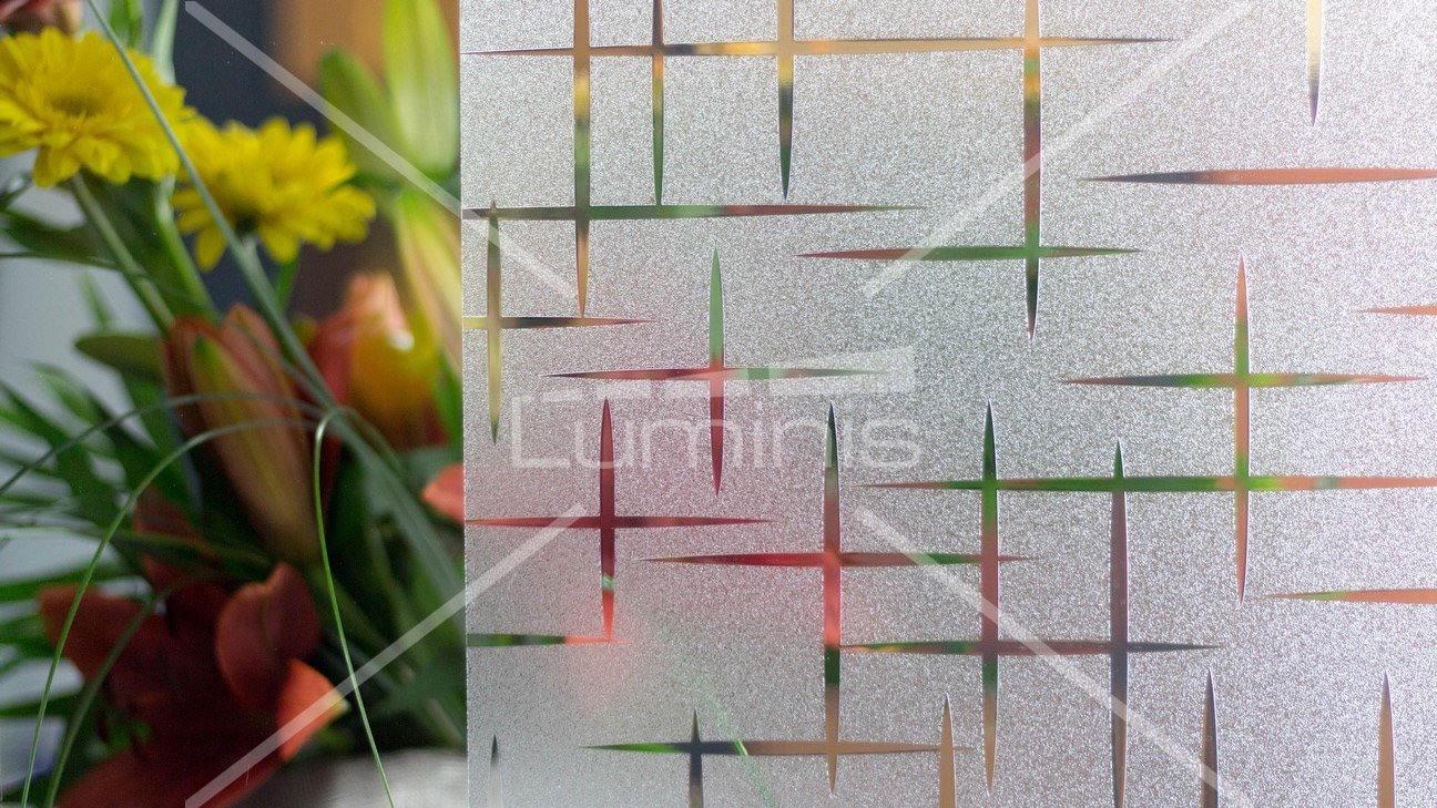 Film repositionnable - Stars S019. Luminis-Films