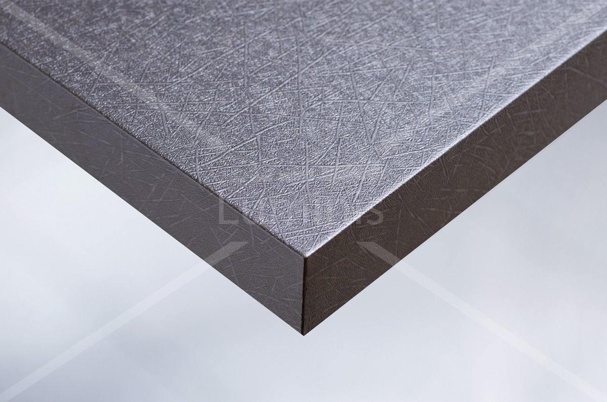Papier adhésif métal paille argentée. Luminis-Films
