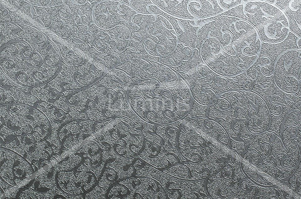 Revêtement déco métallisé arabesque. Luminis-Films