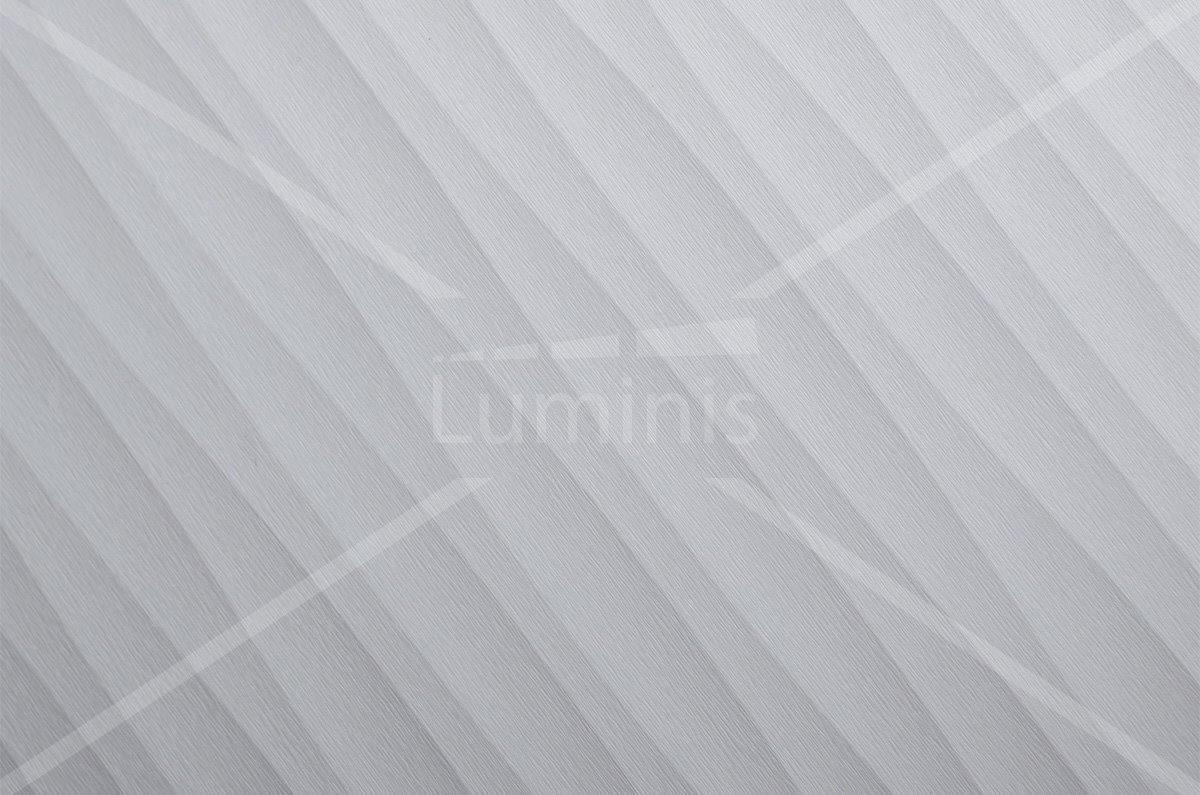 Film tramé blanc argenté avec reflets - U13. Luminis-Films