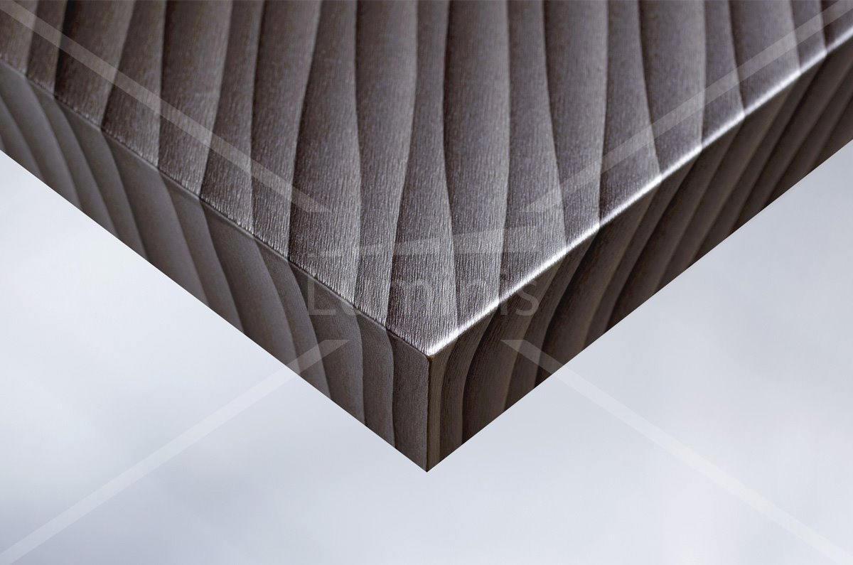 Film tramé marron argenté avec reflets - U14. Luminis-Films
