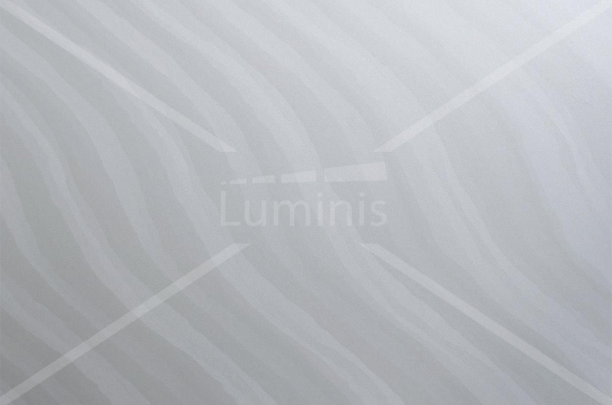 Adhésif décoratif hologramme blanc à vagues. Luminis-Films