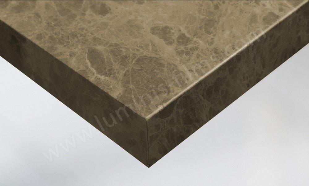Revêtement adhésif marbre grège. Luminis-Films