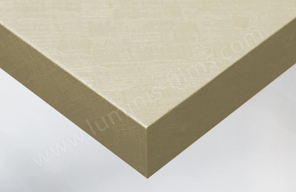 Papier autocollant béton ciré beige décoratif. Luminis-Films