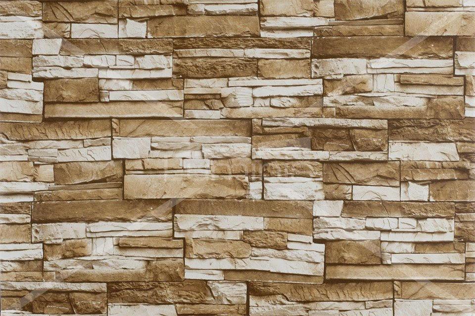 Adh sif mural pierre de parement beiges brick 2910 - Pierres de parement mural ...