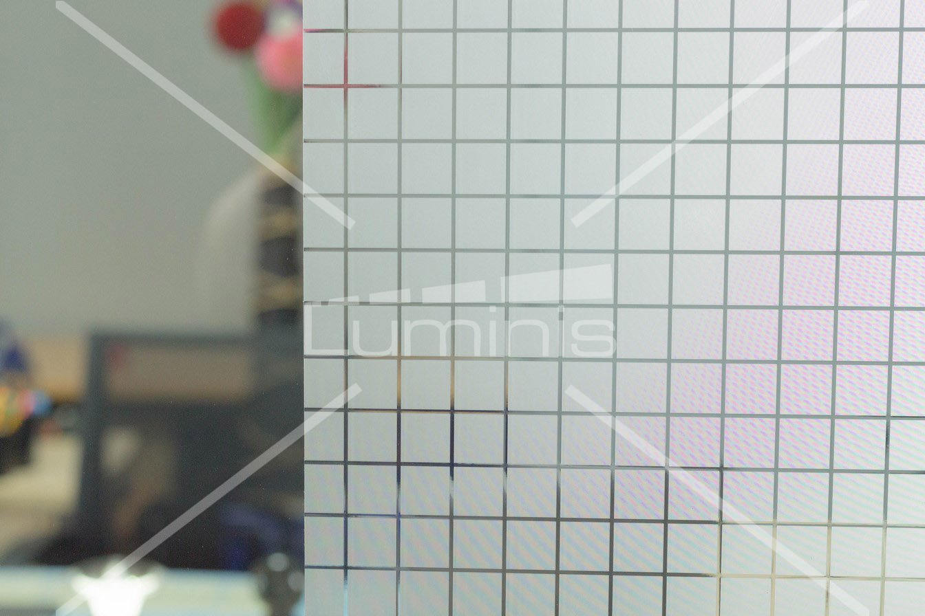 Film repositionnable - Vidrio - S008. Luminis-Films