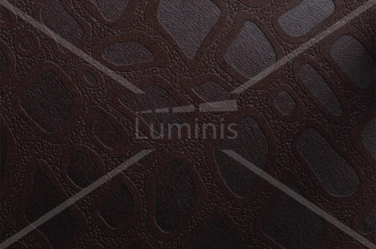 Tissu adhésif design marron foncé - W1. Luminis-Films
