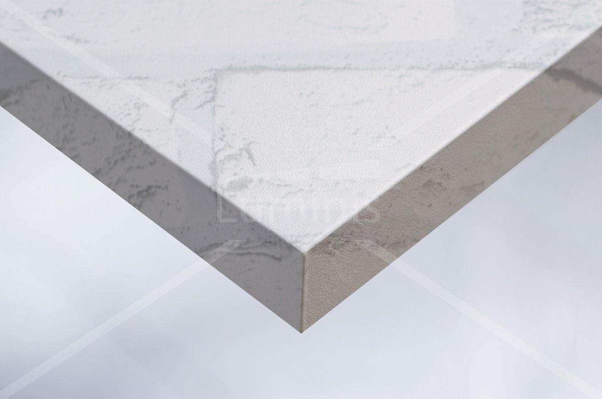Revêtement mur de briques blanches. Luminis-Films