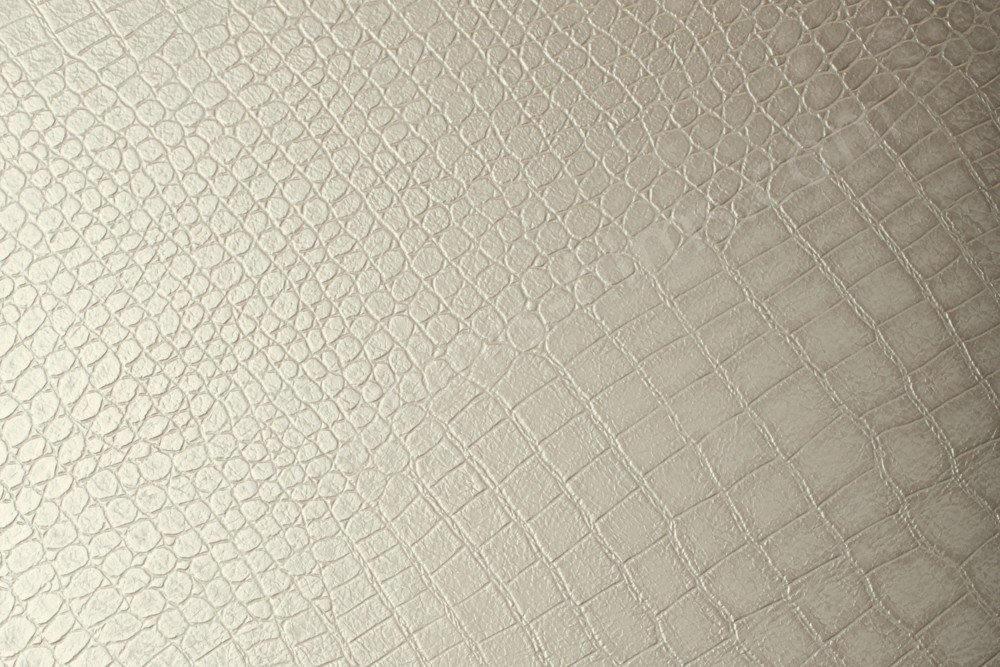 Papier adhésif effet croco blanc nacré. Luminis-Films