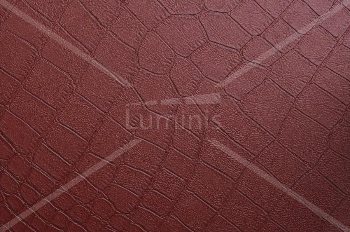 Film cuir rouge crocodile - X8. Luminis-Films
