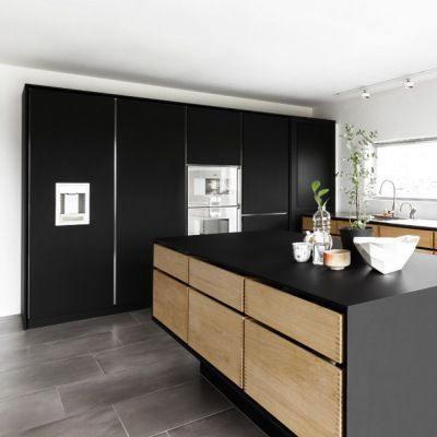 Revêtement décoratif noir mat 2D. Luminis Films