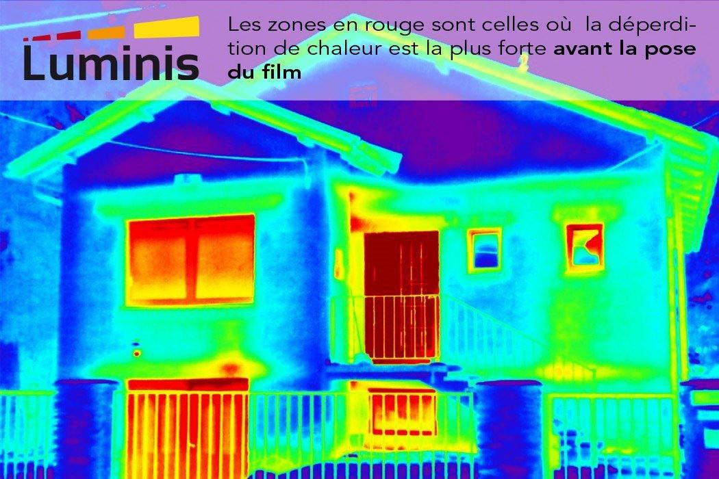 Film isolant anti froid m tallis isol 101i luminis films - Film isolant fenetre anti froid ...
