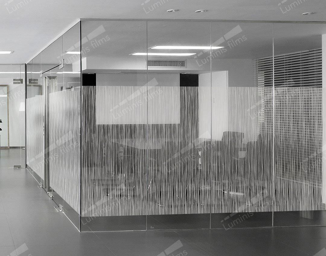 Film décoratif à filaments dépolis - DECO-525i. Luminis-Films