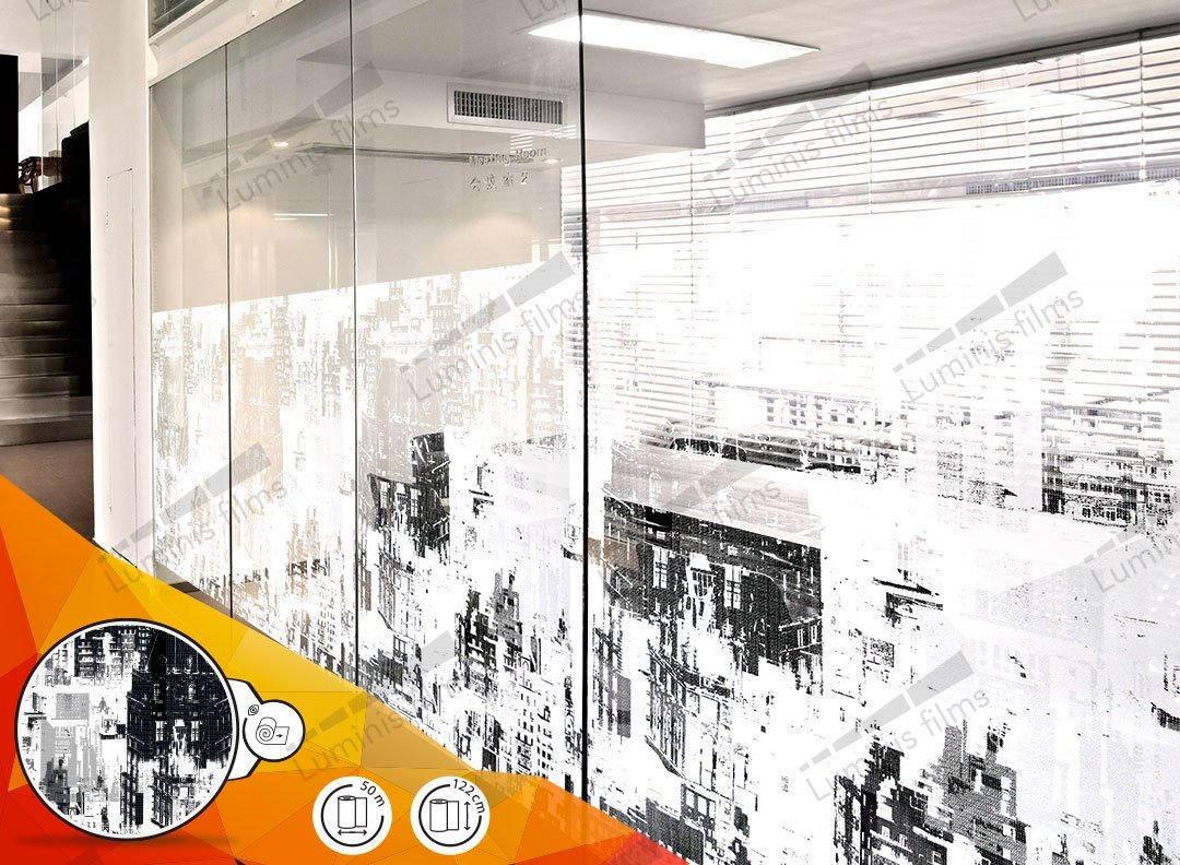 Film décoratif à motifs de ville - DECO-520i. Luminis-Films