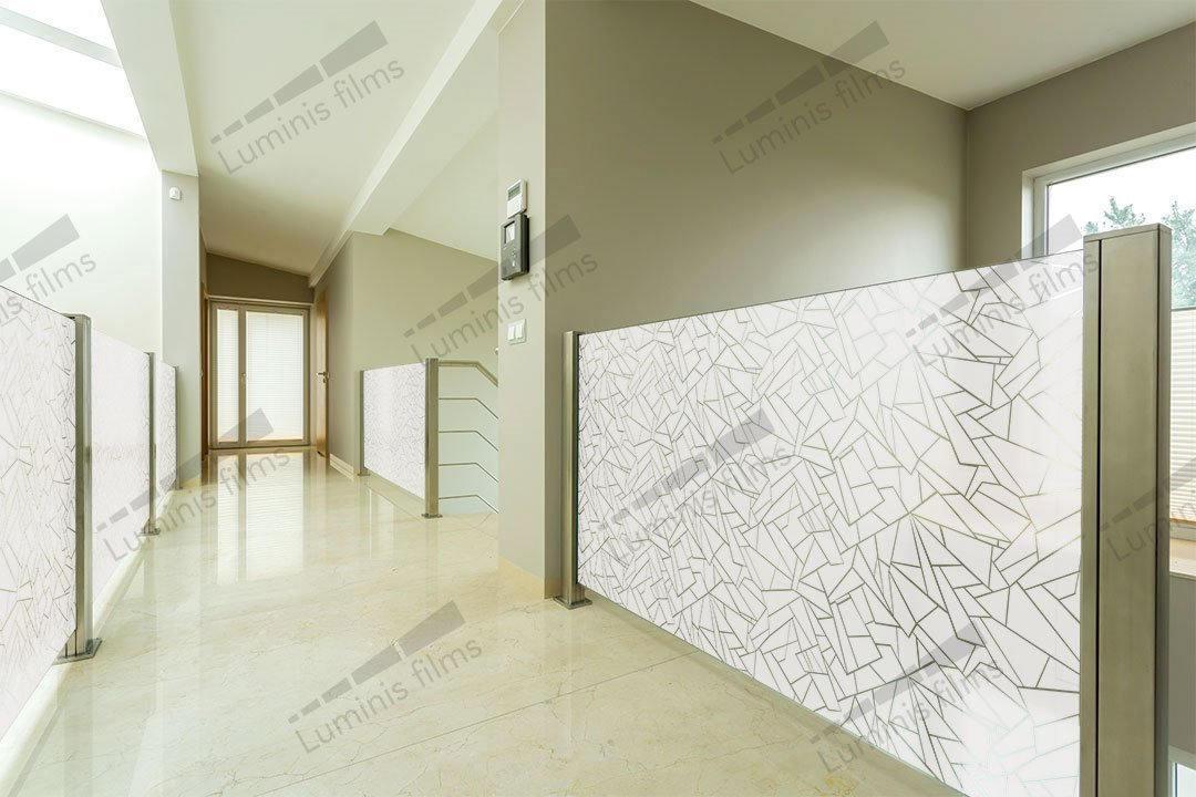 Film décoratif effet verre brisé - DECO-517i. Luminis-Films