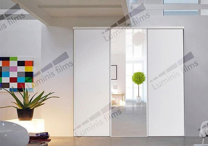 film miroir total r fl chissant argent miroir 111i luminis films. Black Bedroom Furniture Sets. Home Design Ideas