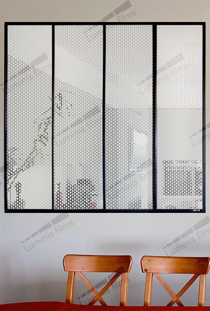 Film décoratif à écailles dépolies - DECO-526i. Luminis-Films